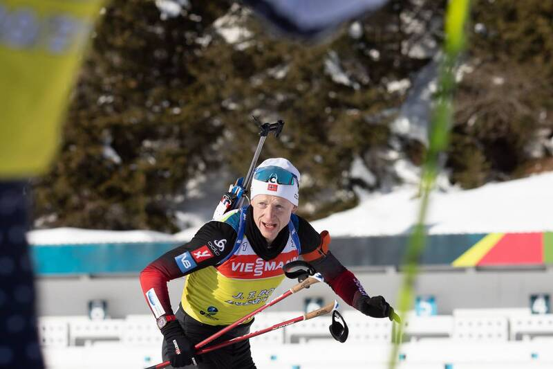 20.01.2021, Antholz, Italy (ITA): Johannes Thingnes Boe (NOR) -  IBU World Cup Biathlon, training, Antholz (ITA). www.nordicfocus.com. © Manzoni/NordicFocus. Every downloaded picture is fee-liable.