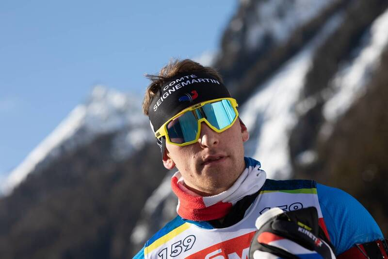 20.01.2021, Antholz, Italy (ITA): Emilien Claude (FRA) -  IBU World Cup Biathlon, training, Antholz (ITA). www.nordicfocus.com. © Manzoni/NordicFocus. Every downloaded picture is fee-liable.