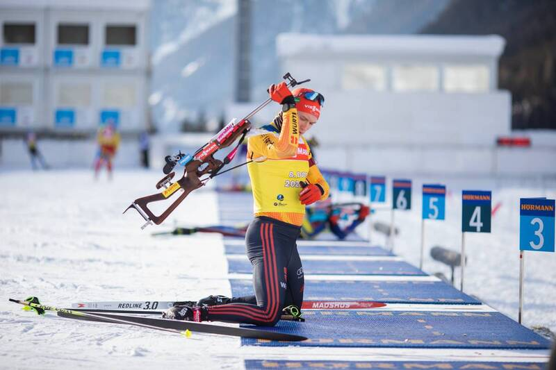 20.01.2021, Antholz, Italy (ITA): Benedikt Doll (GER) -  IBU World Cup Biathlon, training, Antholz (ITA). www.nordicfocus.com. © Manzoni/NordicFocus. Every downloaded picture is fee-liable.