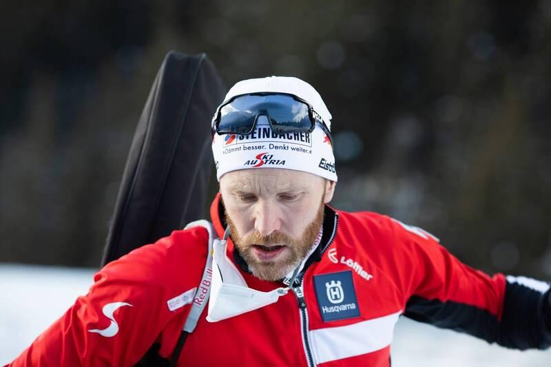 20.01.2021, Antholz, Italy (ITA): Simon Eder (AUT) -  IBU World Cup Biathlon, training, Antholz (ITA). www.nordicfocus.com. © Manzoni/NordicFocus. Every downloaded picture is fee-liable.