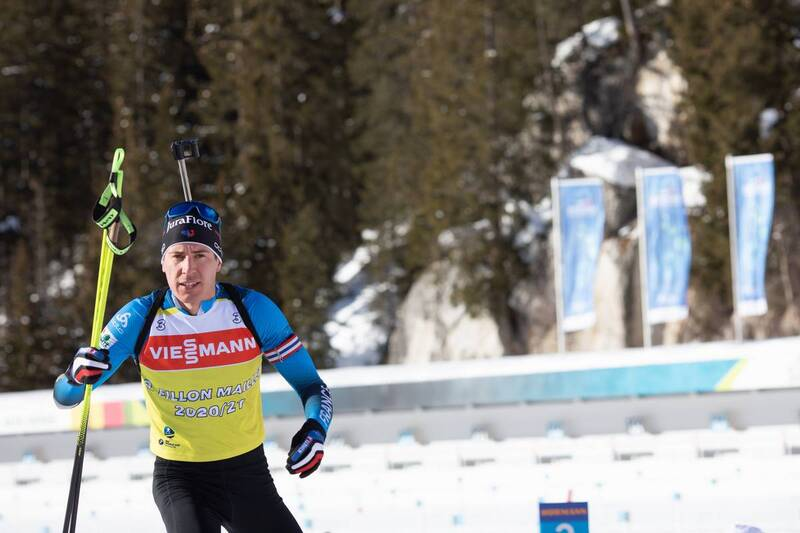 20.01.2021, Antholz, Italy (ITA): Quentin Fillon Maillet (FRA) -  IBU World Cup Biathlon, training, Antholz (ITA). www.nordicfocus.com. © Manzoni/NordicFocus. Every downloaded picture is fee-liable.