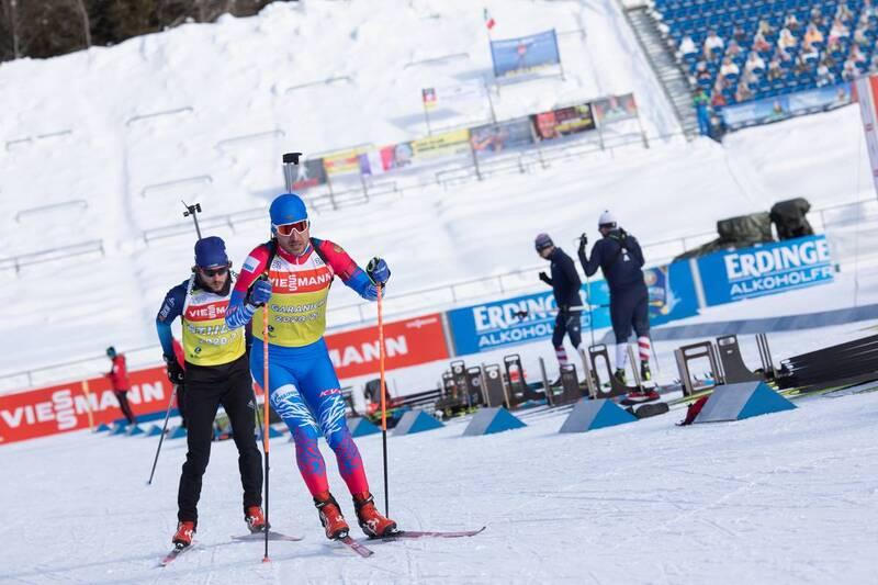 20.01.2021, Antholz, Italy (ITA): Evgeniy Garanichev (RUS) -  IBU World Cup Biathlon, training, Antholz (ITA). www.nordicfocus.com. © Manzoni/NordicFocus. Every downloaded picture is fee-liable.
