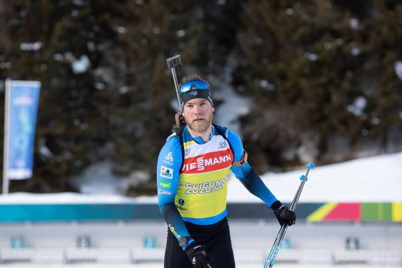 20.01.2021, Antholz, Italy (ITA): Antonin Guigonnat (FRA) -  IBU World Cup Biathlon, training, Antholz (ITA). www.nordicfocus.com. © Manzoni/NordicFocus. Every downloaded picture is fee-liable.