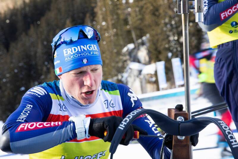 20.01.2021, Antholz, Italy (ITA): Lukas Hofer (ITA) -  IBU World Cup Biathlon, training, Antholz (ITA). www.nordicfocus.com. © Manzoni/NordicFocus. Every downloaded picture is fee-liable.