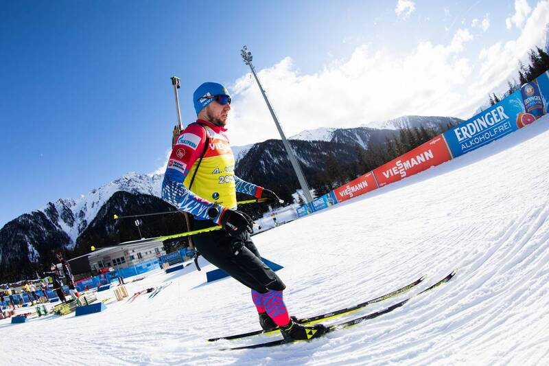 20.01.2021, Antholz, Italy (ITA): Alexander Loginov (RUS) -  IBU World Cup Biathlon, training, Antholz (ITA). www.nordicfocus.com. © Manzoni/NordicFocus. Every downloaded picture is fee-liable.