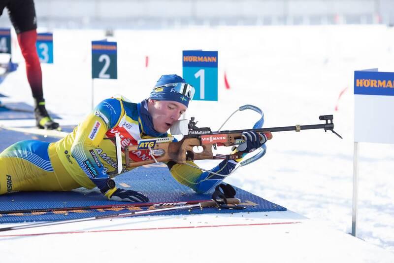 20.01.2021, Antholz, Italy (ITA): Sebastian Samuelsson (SWE) -  IBU World Cup Biathlon, training, Antholz (ITA). www.nordicfocus.com. © Manzoni/NordicFocus. Every downloaded picture is fee-liable.