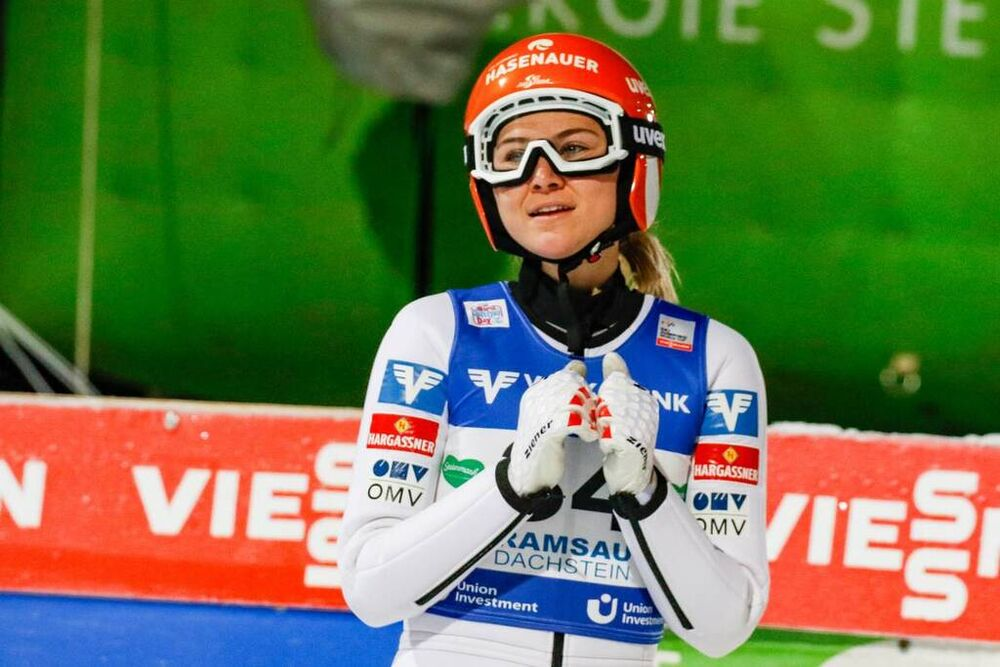 18.12.2020, Ramsau, Austria, (AUT):Marita Kramer (AUT) - FIS world cup ski jumping women, individual HS98, Ramsau (AUT). www.nordicfocus.com. © Volk/NordicFocus. Every downloaded picture is fee-liable.