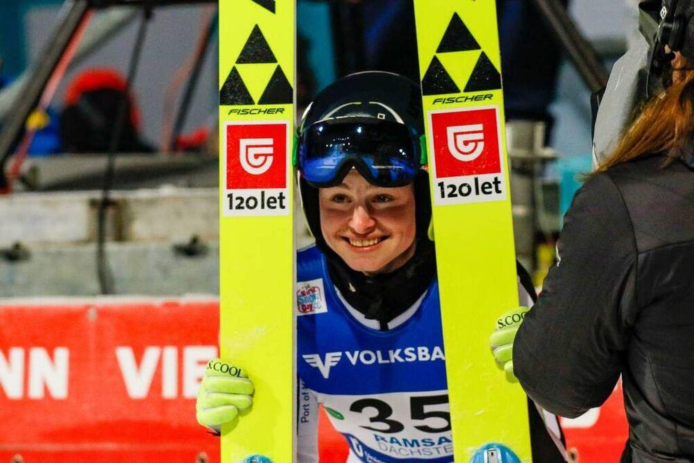 18.12.2020, Ramsau, Austria, (AUT):Nika Kriznar (SLO) - FIS world cup ski jumping women, individual HS98, Ramsau (AUT). www.nordicfocus.com. © Volk/NordicFocus. Every downloaded picture is fee-liable.