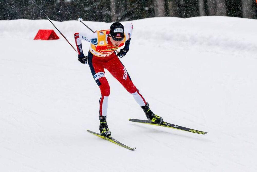 30.01.2021, Seefeld, Austria (AUT):Jarl Magnus Riiber (NOR) - FIS world cup nordic combined men, individual gundersen HS109/10km, Seefeld (AUT). www.nordicfocus.com. © Volk/NordicFocus. Every downloaded picture is fee-liable.