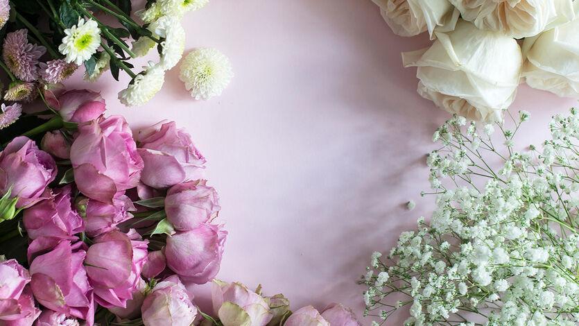 Blomster skaper glede