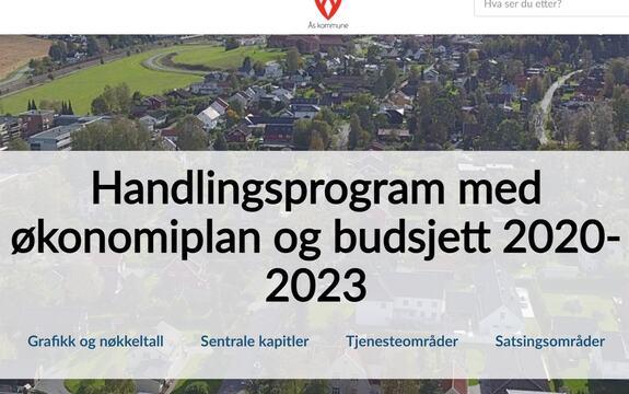 Handlingsprogram rådmannens forslag 2020-23