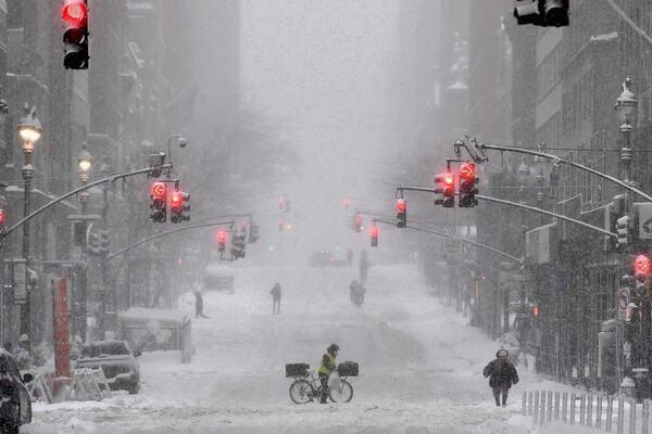 Photo : New York Weather