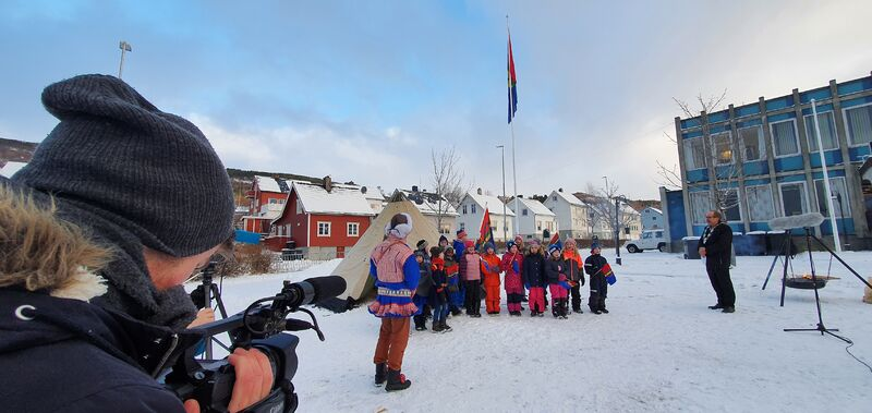 Samisk nasjonaldagsfeiring på Borkenes