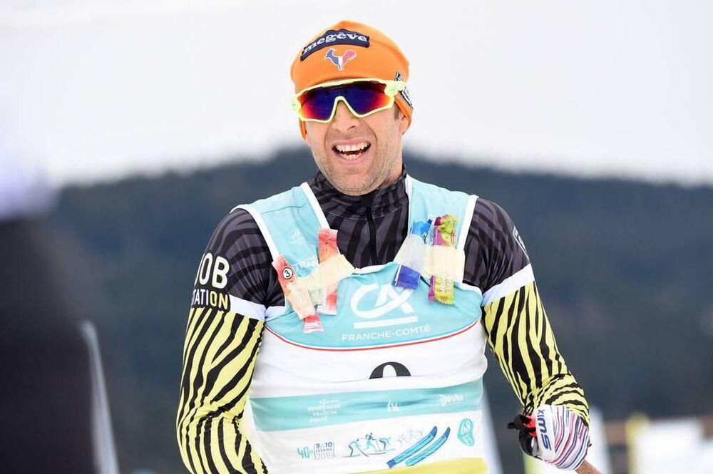 10.02.2019, Morez, France (FRA):Benoit Chauvet (FRA) - FIS World Loppet LaTransjurassienne, Morez (FRA). www.nordicfocus.com. © Rauschendorfer/NordicFocus. Every downloaded picture is fee-liable.