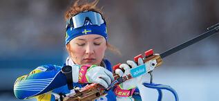 11.01.2020, Oberhof, Germany (GER):Linn Persson (SWE) -  IBU world cup biathlon, relay women, Oberhof (GER). www.biathlonworld.com © Thonfeld/IBU