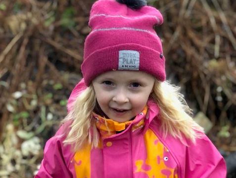 Mathilde 6 år