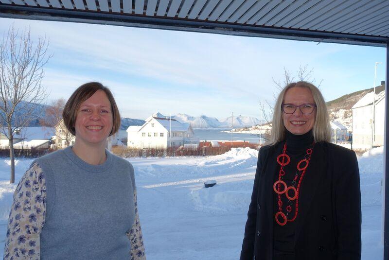 Kommunedirektør og økonomisjef Kvæfjord kommune