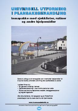 Universell utforming i plansaksbehandlingen  - Forsiden