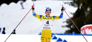 03.03.2021, Obertilliach (AUT), Austria:Oscar Andersson (SWE) - IBU Youth/Junior World Championships, youth pursuit men, Obertilliach (AUT). www.biathlonworld.com © Reichert/IBU. Handout picture by the International Biathlon Union. For editorial use onl
