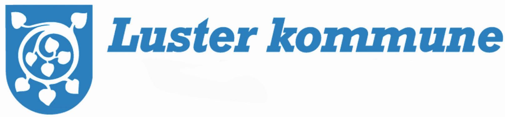 Luster kommune logo