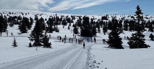Ut på ski - Husk smittevern!