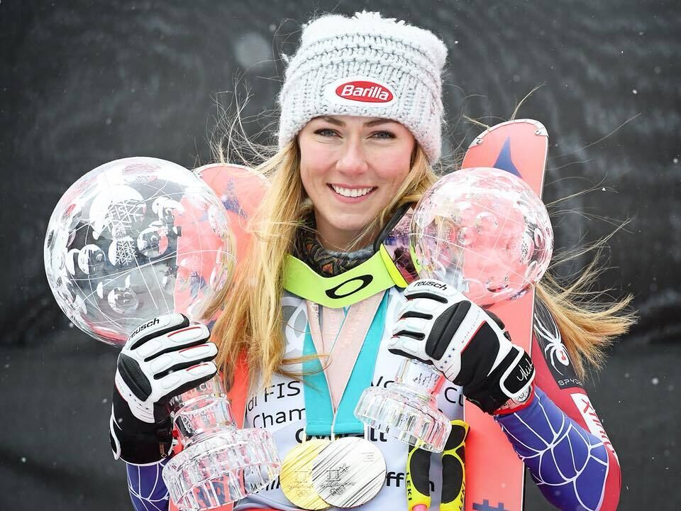 Photo : Mikaela Shiffrin / Facebook