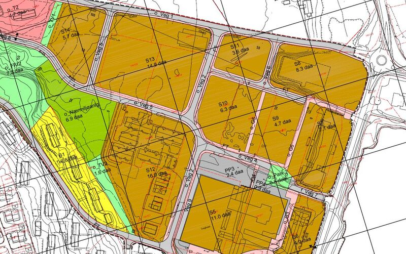 Reguleringsplan Husnes sentrum