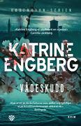 Forside på romanene Vådeskudd av Engeberg.