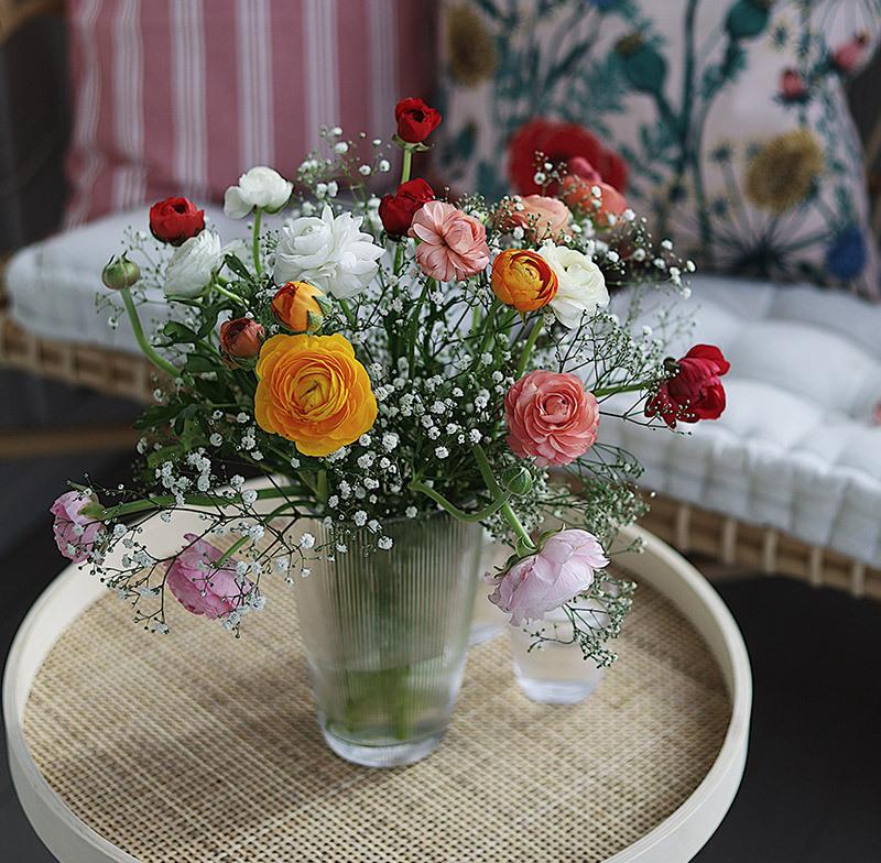 brudesloer som potteplante skaper garantert romantisk stemning på uteplassen