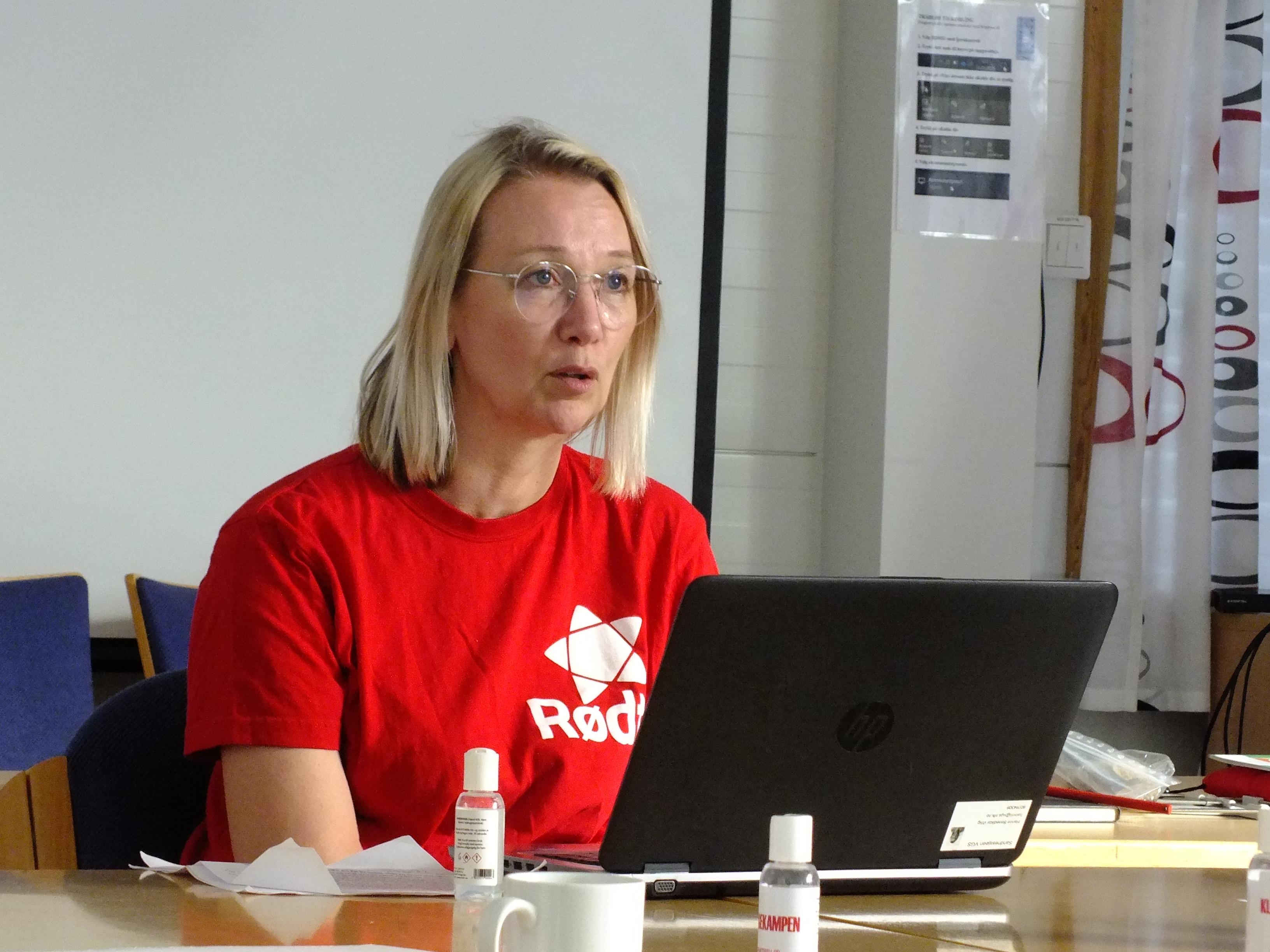 Partiet Rødt stiftet i Herøy_Hanne Benedikte Wiig