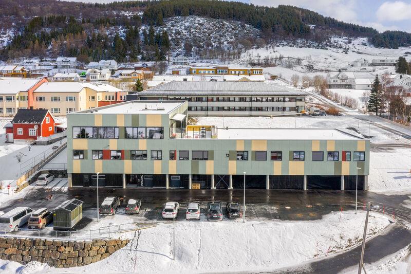 Kvæfjord helsehus. Foto: Smilehullet