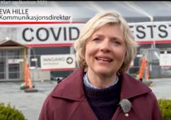 Eva Hille, kommunikasjonsdirektør, Bergen kommune. Foto: Bergen kommune