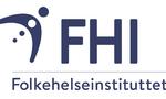 FHI logo hvit bakgrunn