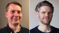 Jon Adler Torp (t.v) og Erlend Sjåvik