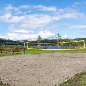 Sandvolleyball Ringsaker Mjøsparken