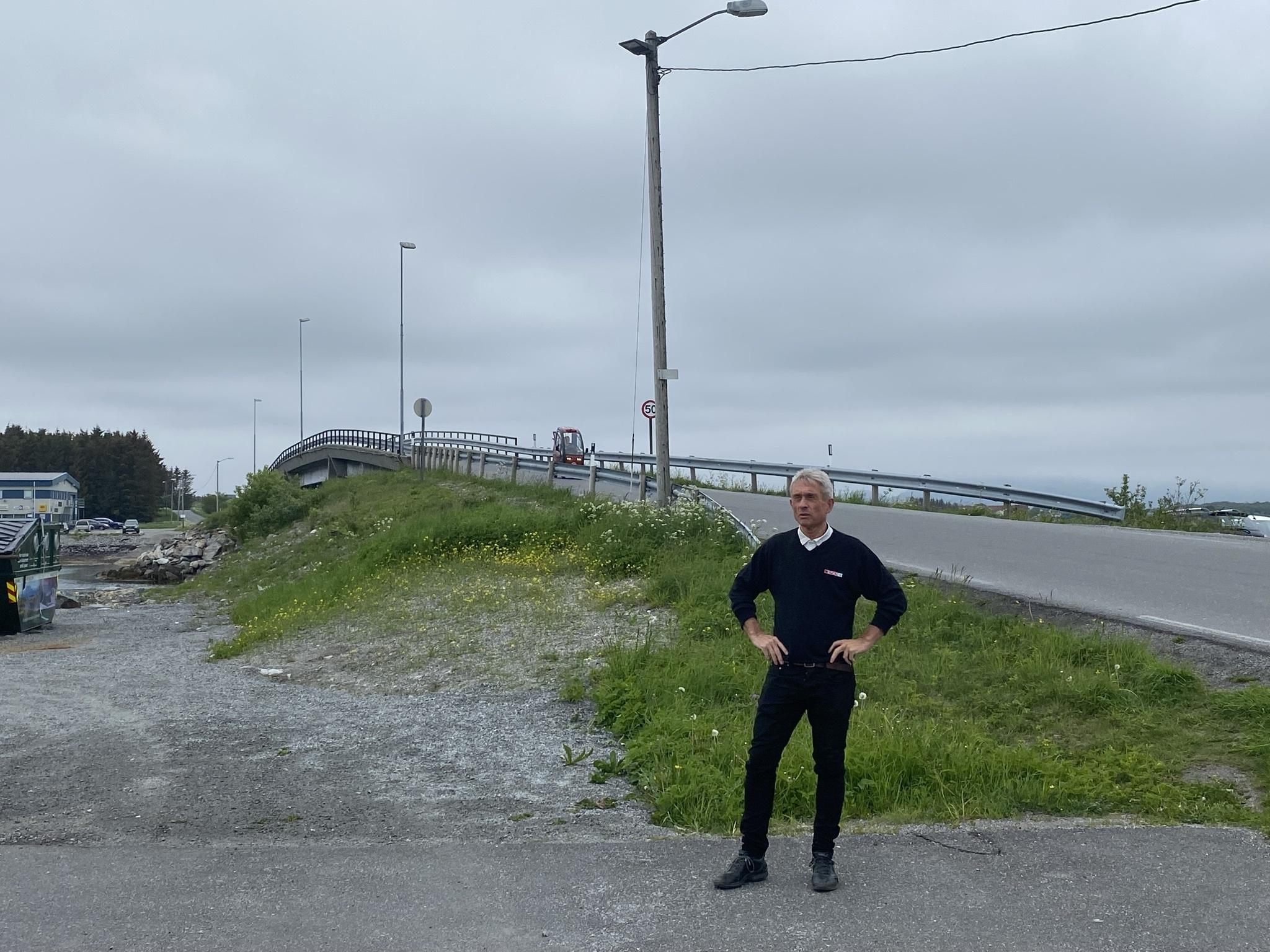 Lysregulering av broer_Arild ved Tennbrua