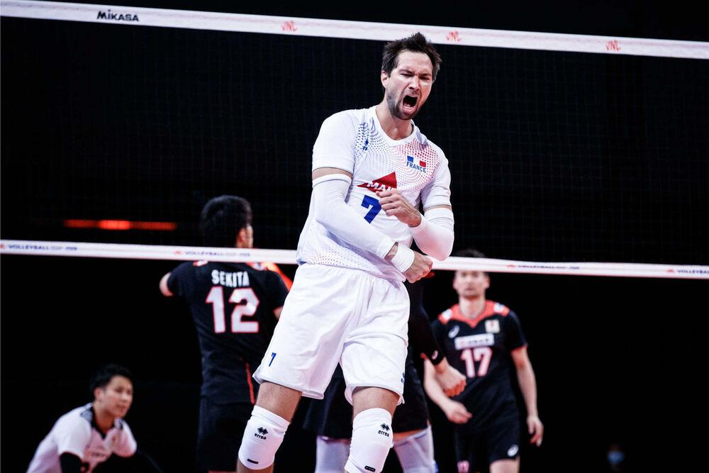 Photo : Equipe de France de Volleyball