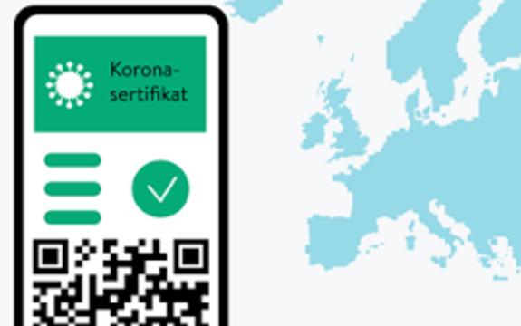 Illustrasjon koronasertifikat