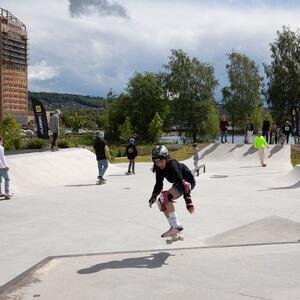 Skateparken Mjøsparken Ringsaker