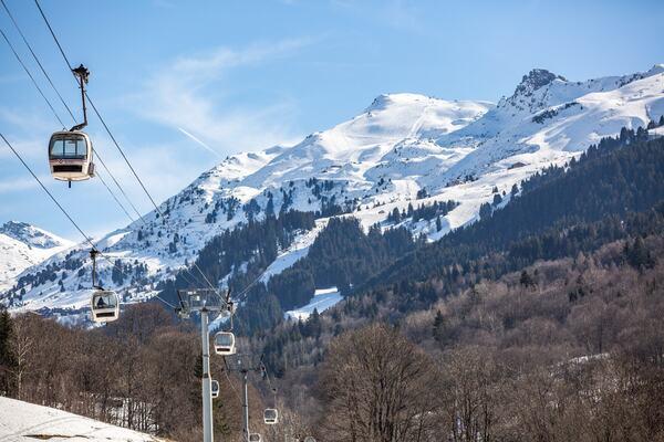 Photo : Méribel Trois Vallées