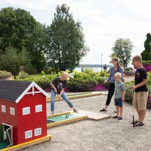 Minigolf i Mjøsparken