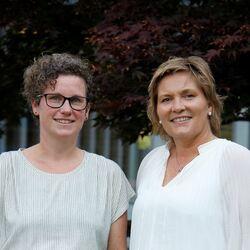 Mari-Kristine Morberg og Aina Drage