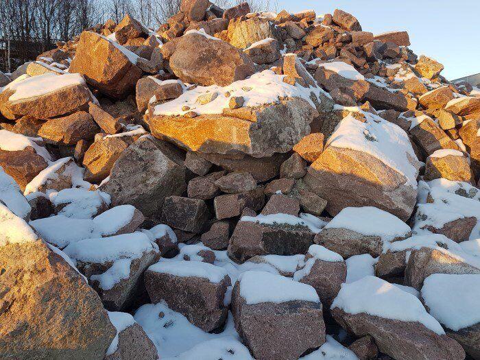 Det oppstår store mengder overskudd av jord- og steinmasser som ikke er forurenset, i Norge hvert eneste år. Massene kan utnyttes langt bedre enn i dag. Foto: Mette Follestad/Miljødirektoratet.