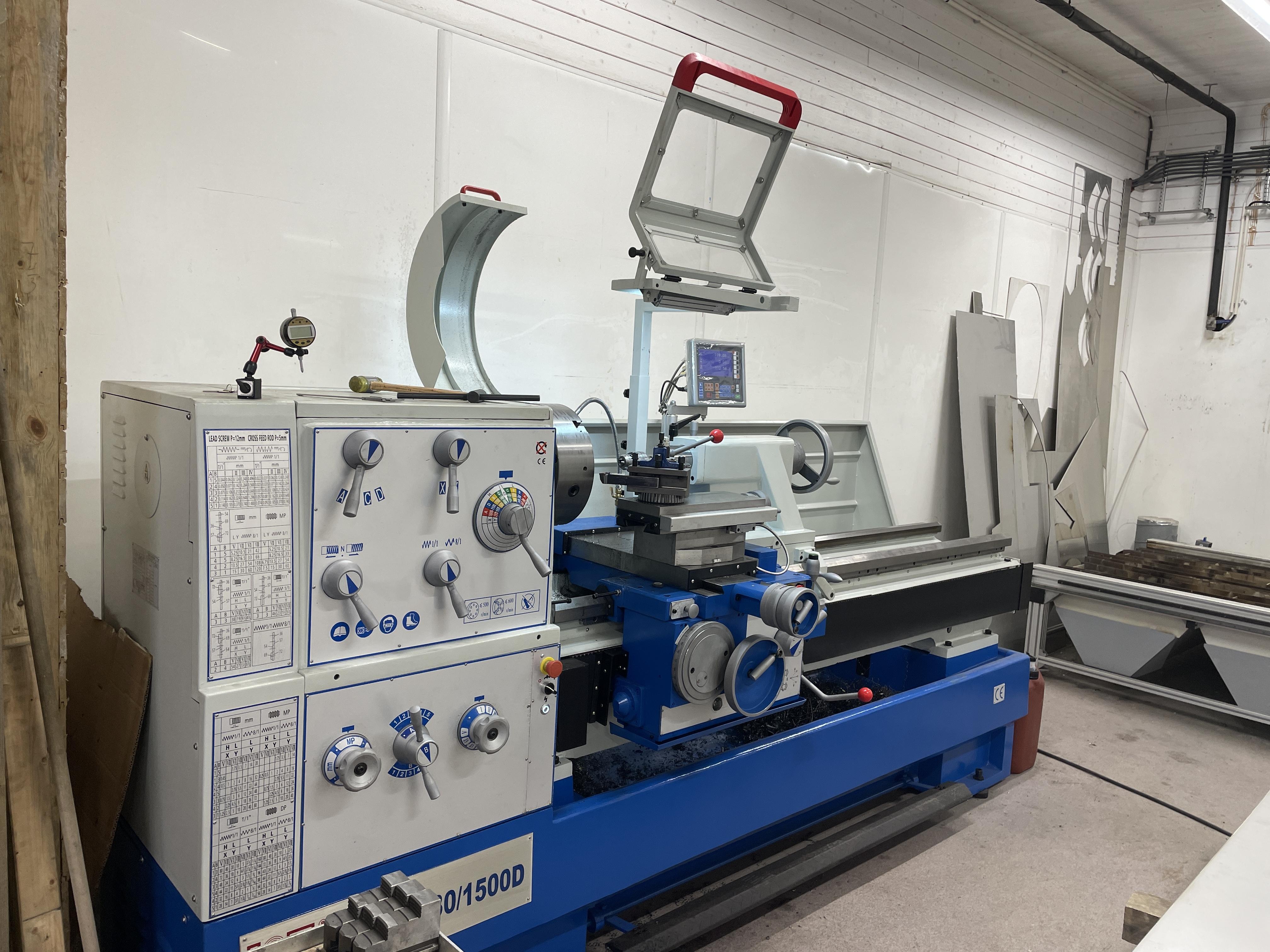 Metalltek utvider drifter og investerer i avansert utstyr_dreiemaskin