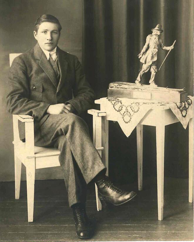 Vasaloppets segrare 1922 Ernst Alm