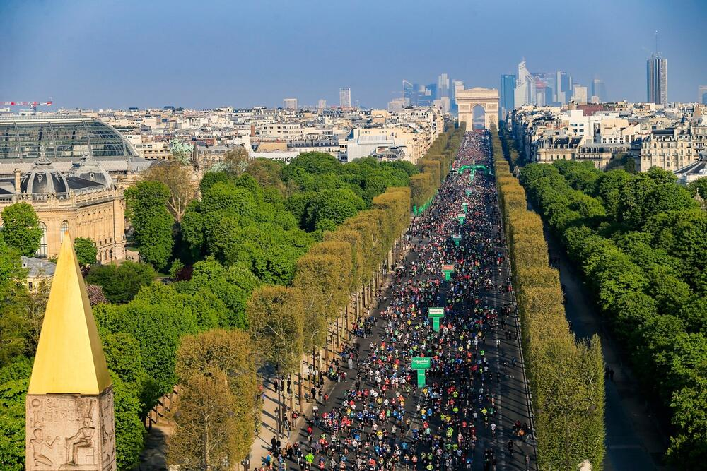 Photo : Marathon de Paris