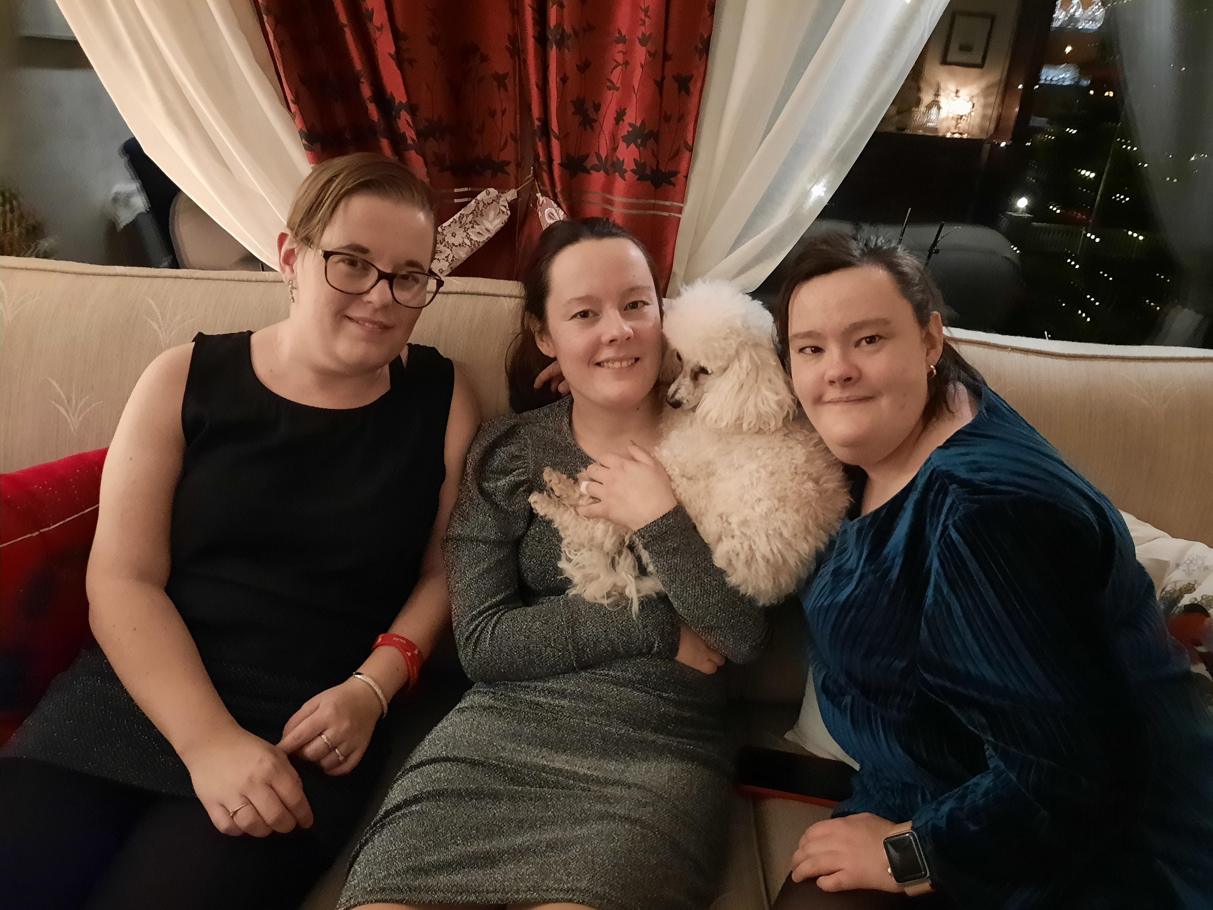 Mariann, Lise og Helene Grande 27 år