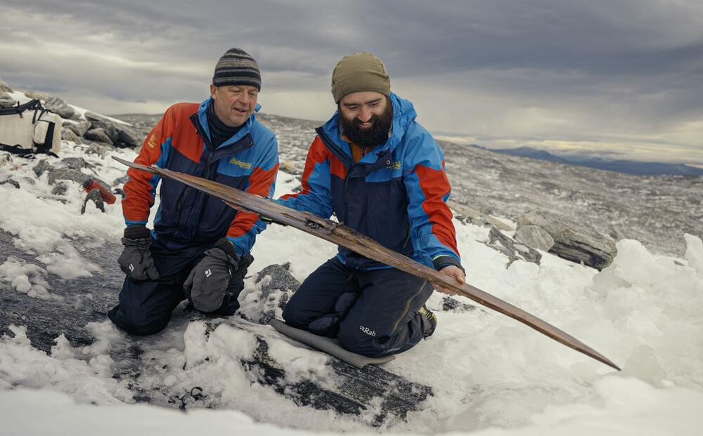 Photo : Secrets of the Ice