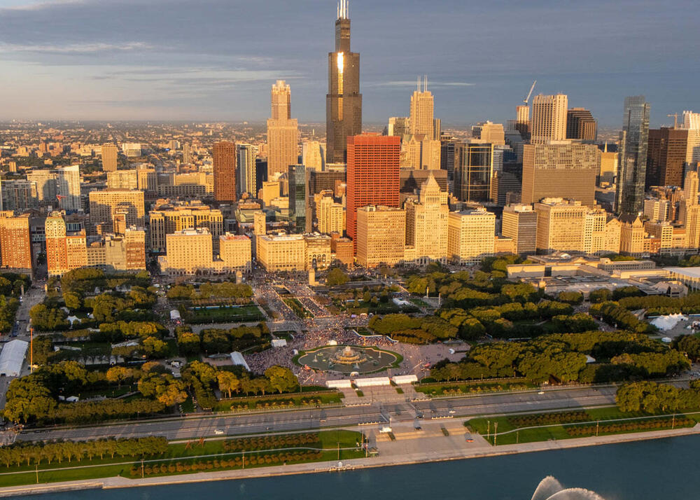 Photo : Chicago Marathon