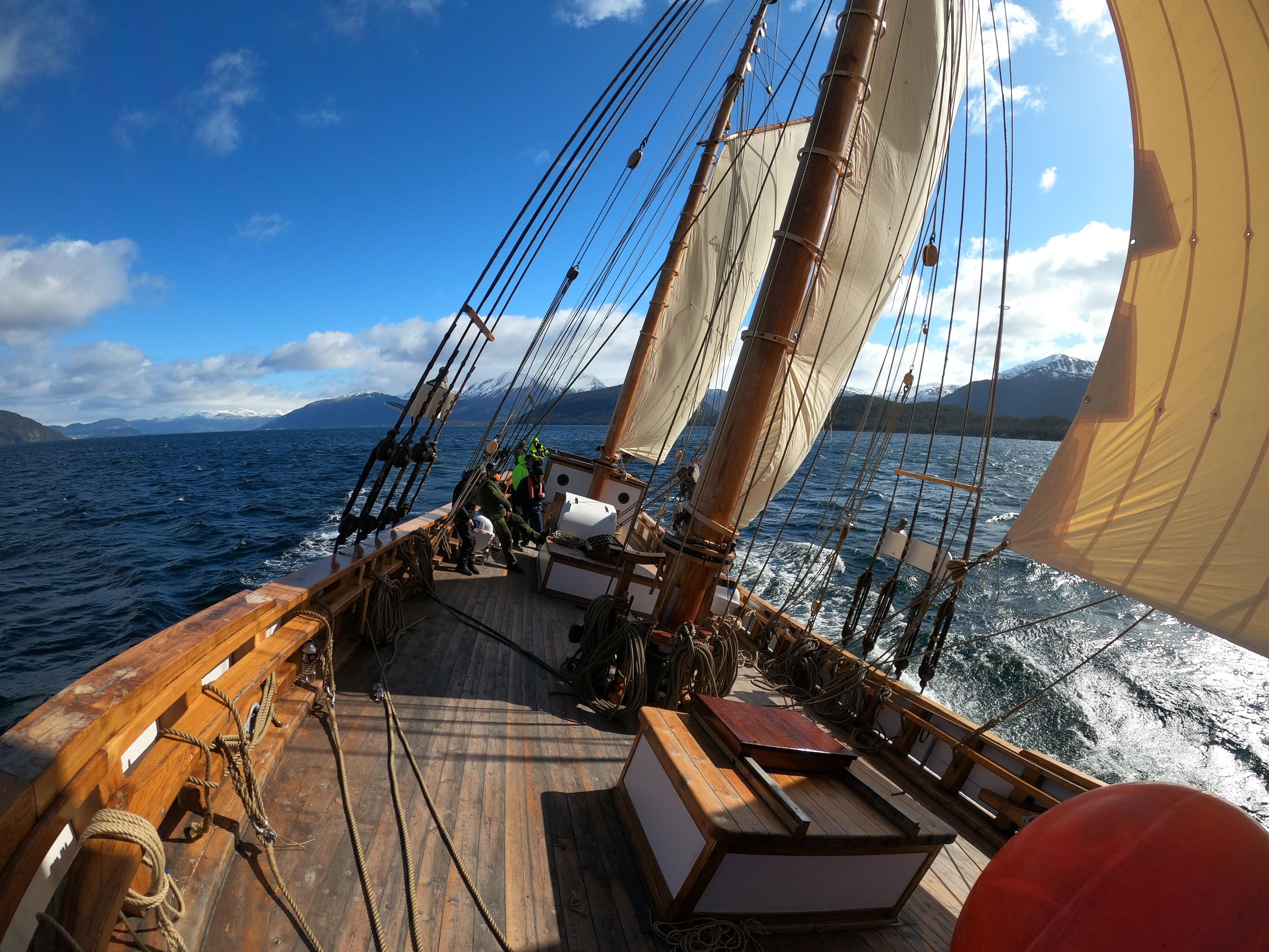 Gurine for seil i Hardangerfjorden. Foto Bjarne Øymyr.JPG